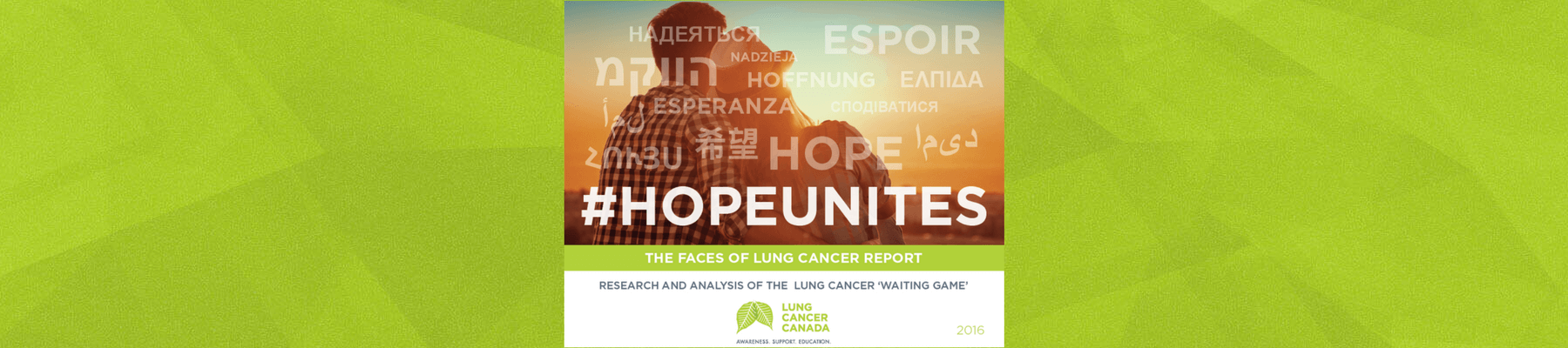 2016 Faces of Lung Cancer Report
