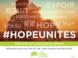 Faces of Lung Cancer Report 2016