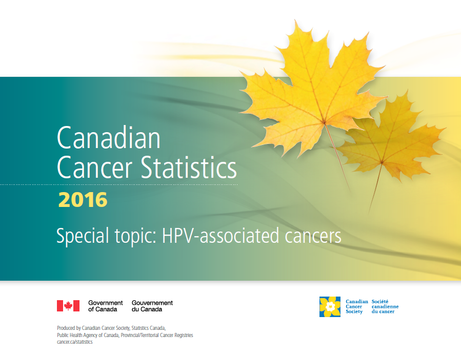 Canadian Cancer Statistics 2016