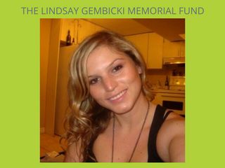 The Lindsay Gembicki Memorial Fund